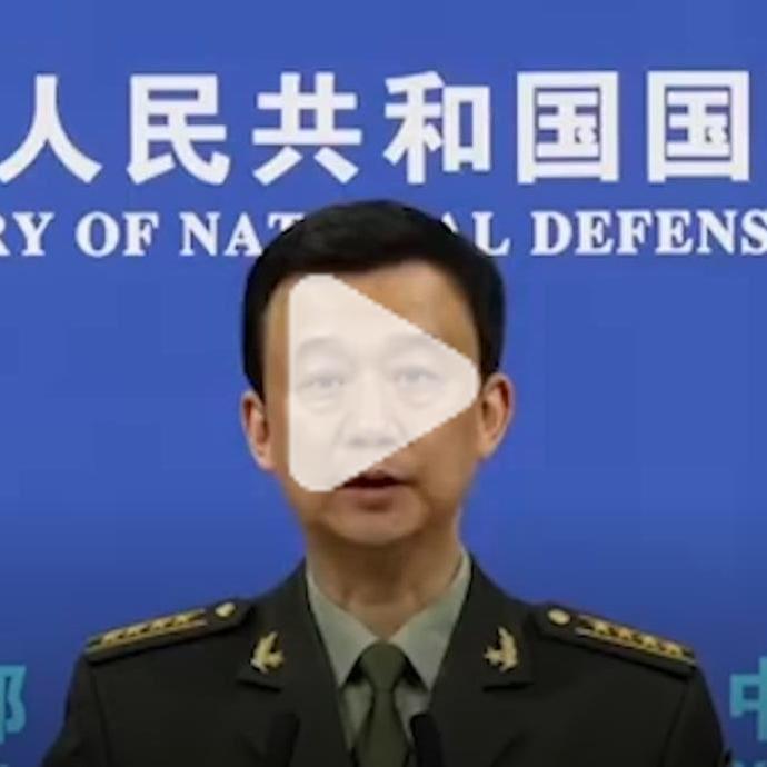 """吴谦:美臆测炒作所谓""""中国威胁""""是病态心理。如果有人执意要威胁中国,我们唯有奉陪。 https://t.co/jVvaxk6Dtc https://t.co/KWgN5vwlyD"""