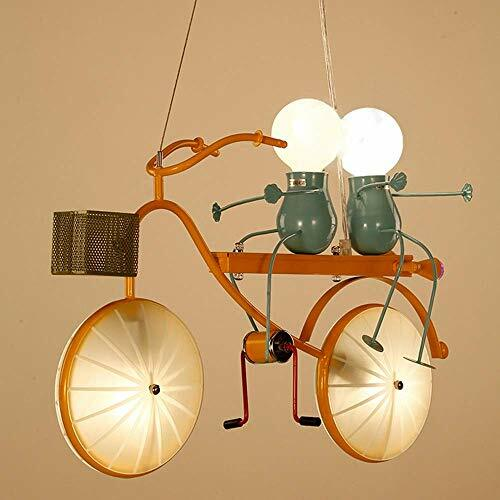 #steampunk https://t.co/0lpoYqN2Pr SEESEE.U Modern Personality Creative Bicycle Wrought Iron Chandelier Bedroom Living Room Lovely Lighting Body L 50 Cm H 40cm/8-18 Sqm