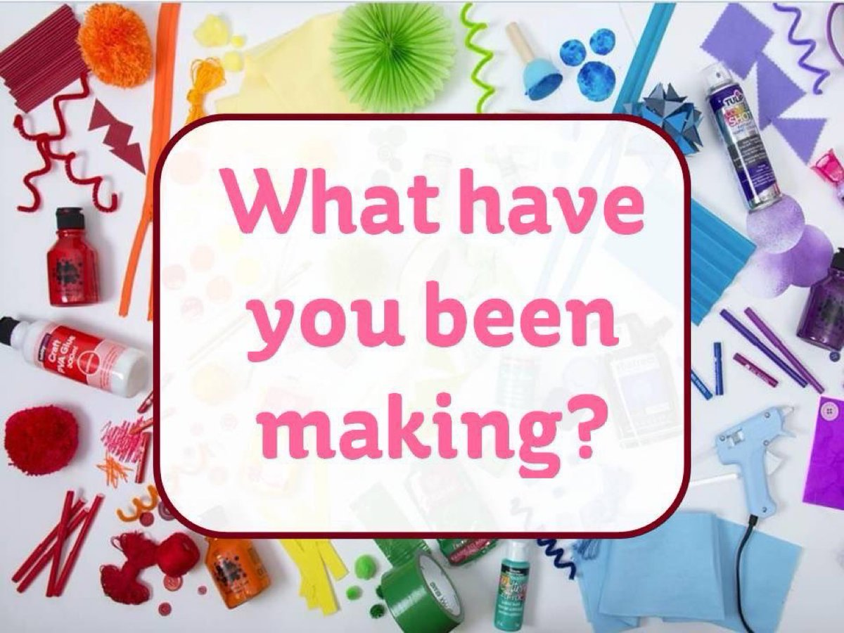#craftingfun #makeitshareit  What have you been up to this week? Share your makes with us on #Facebook #twitter #instagram https://t.co/eYVWzqTe8h