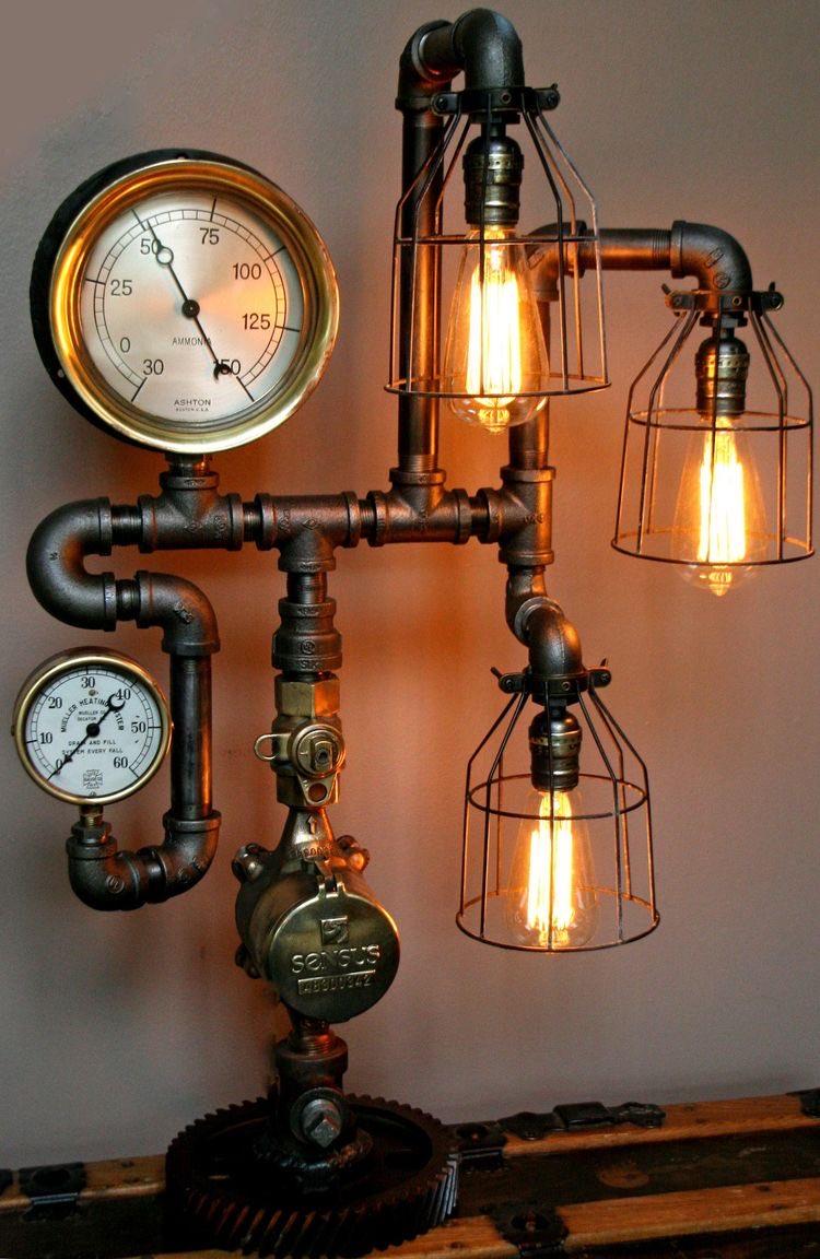Lampa.. .#steampunk