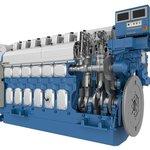 Image for the Tweet beginning: Wärtsilä 20 engine fitted with