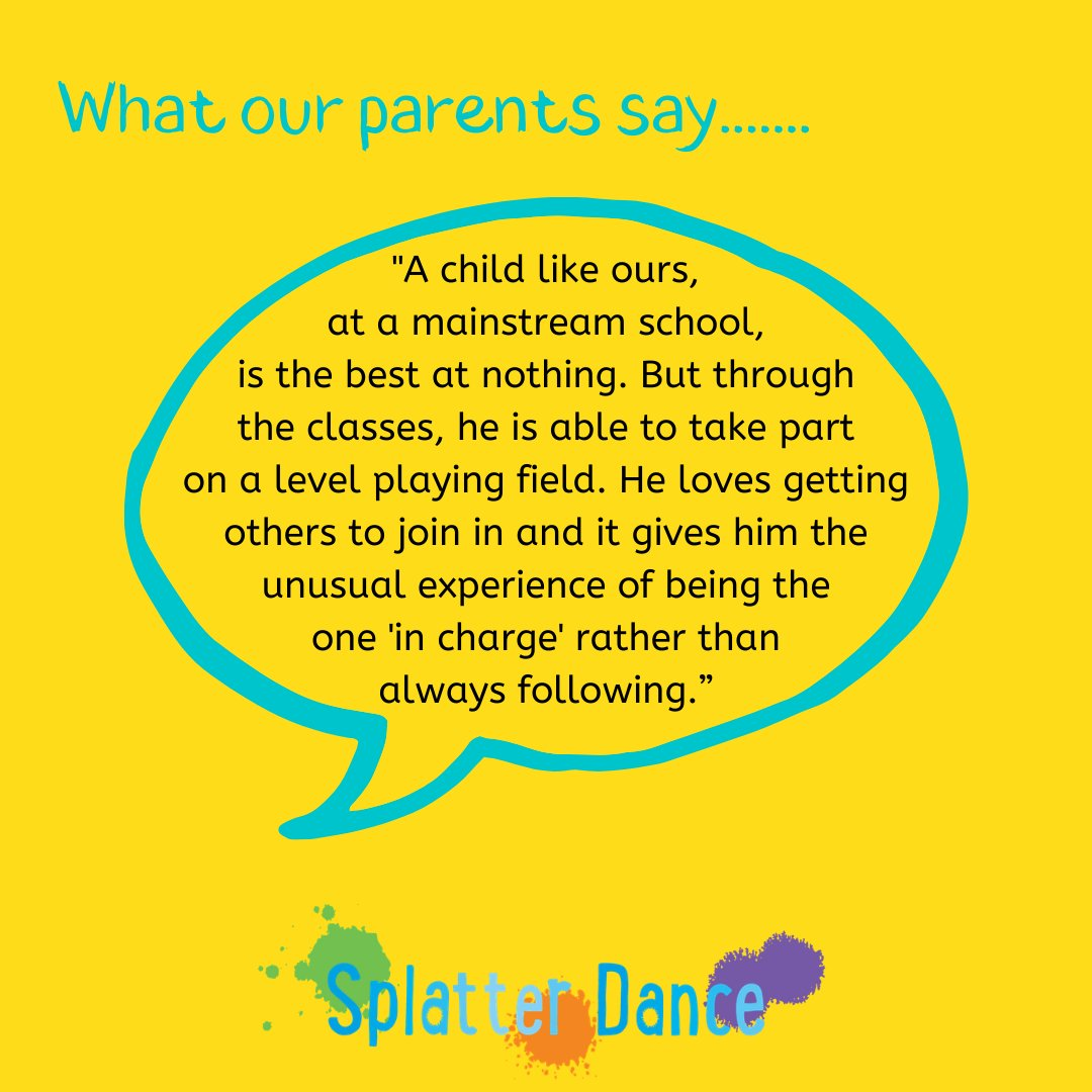 Feedback from the parent of a child who sat behind the curtain for the first 6 weeks that he came to classes. It is possibly one of the most heart-breaking & yet amazing comments, & shows how dance really is about more than dance.  #InternationalDanceDay2021 #IDD2021 #DanceRising