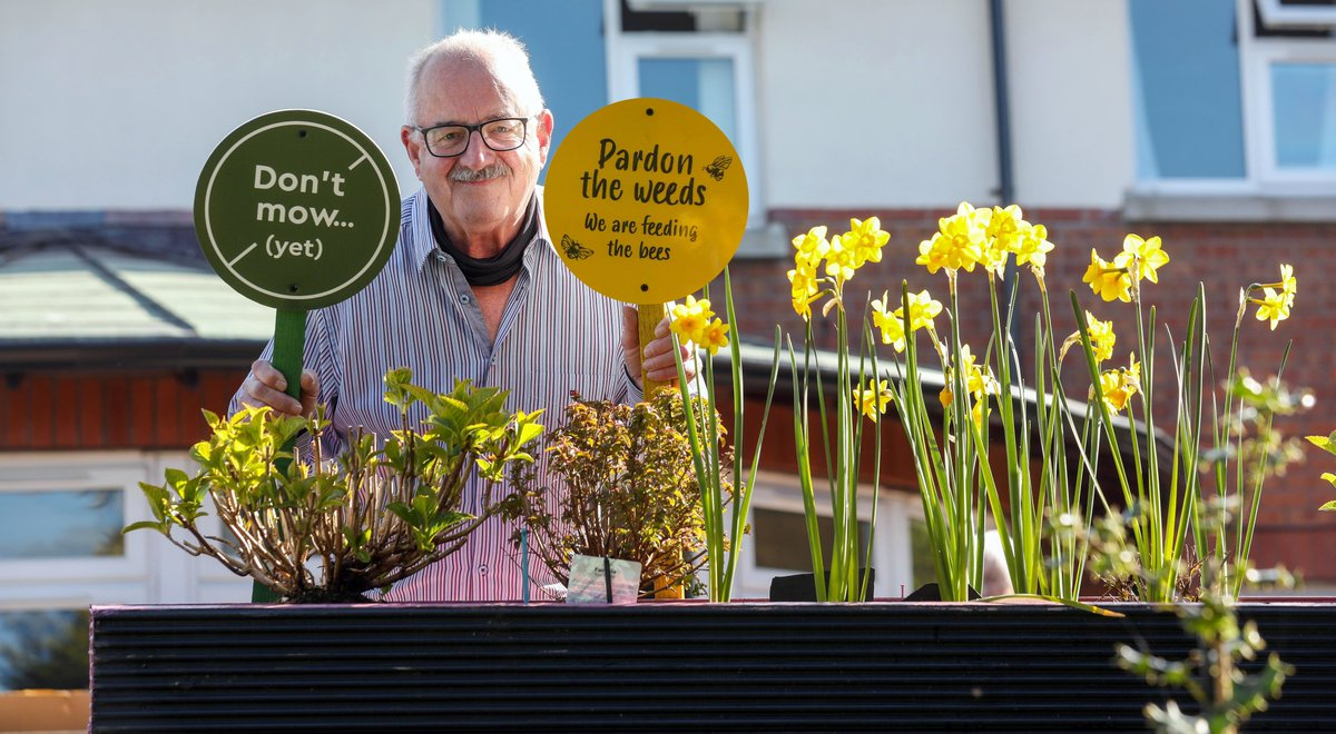 Great to see a local #HousingAssociation getting involved in vital climate and sustainability activity.