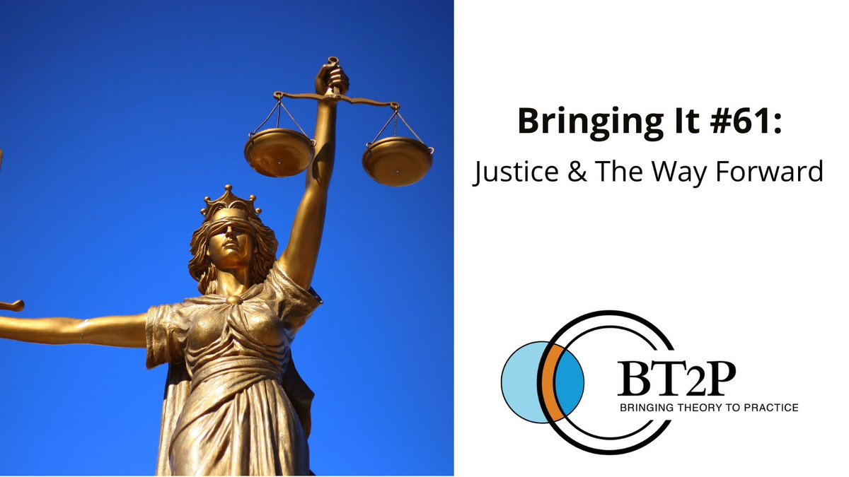 In this edition of #BringingIt we share updates about The Way Forward and reflect on last week's verdict and the events of the past year that have lead us to this moment. Read more about some current projects that support and uplift equity work at: https://t.co/1jvwkA3FlM