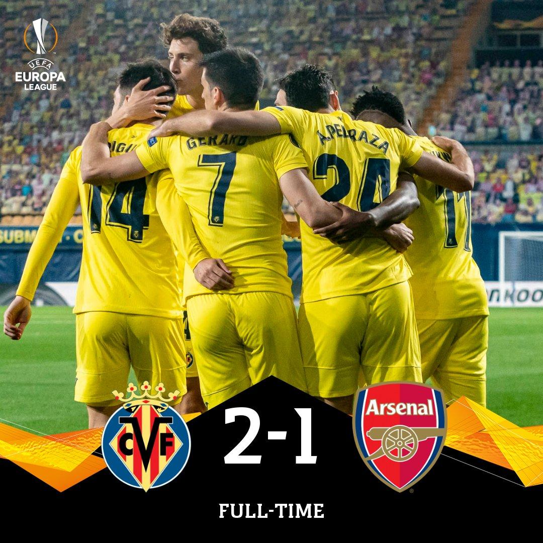 Skor akhir Villarreal 2-1 Arsenal