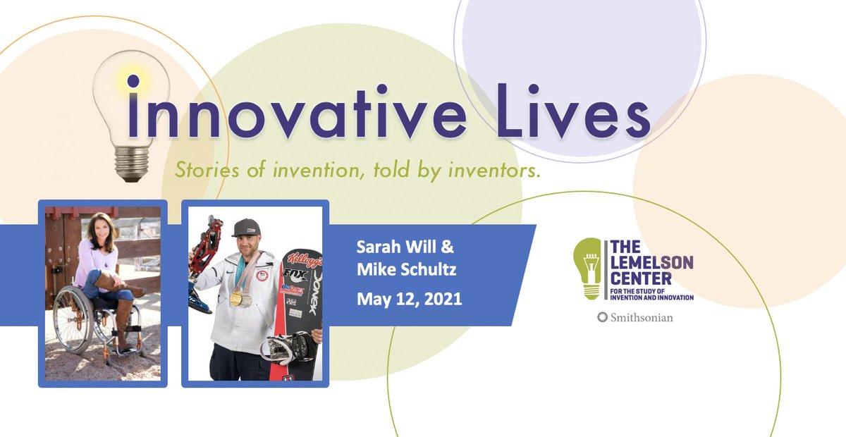 Next week: Join @SI_Invention for a discussion about #technology and #accessibility in winter sports featuring Sarah Will and Mike Schultz. Learn more: https://t.co/QWMoZ7rpcI