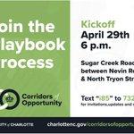 Image for the Tweet beginning: The Sugar Creek Corridor Playbook