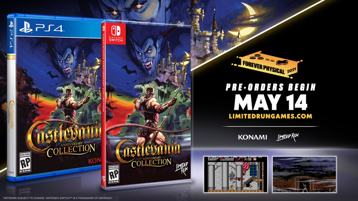 @Konami's photo on Castlevania