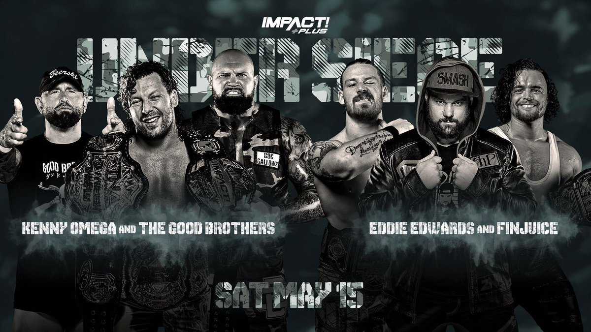 """Kenny Omega Set For Action At Impact's """"Under Siege"""" Event, Six-Way Match Also Announced"""