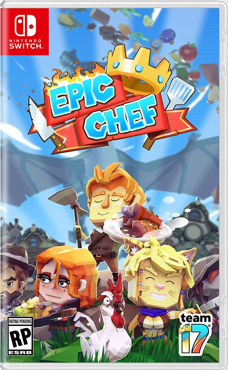 Epic Chef (Switch) pre-order on Amazon: 2  $39.99