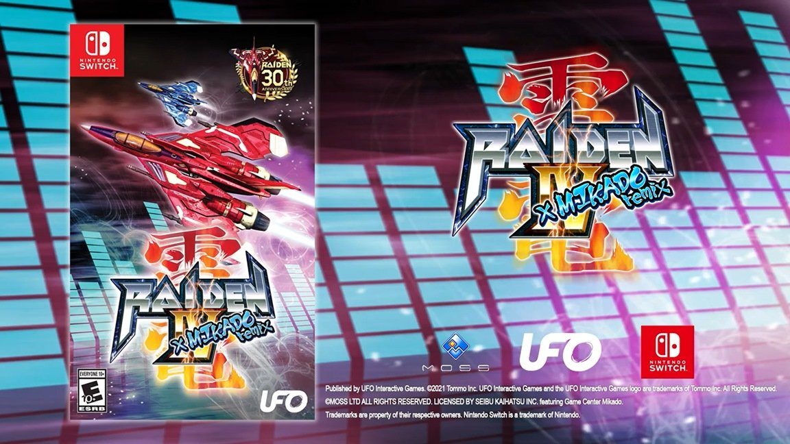 Raiden IV x MIKADO remix (Switch) pre-order on Amazon: 2  $29.99 releases May 6