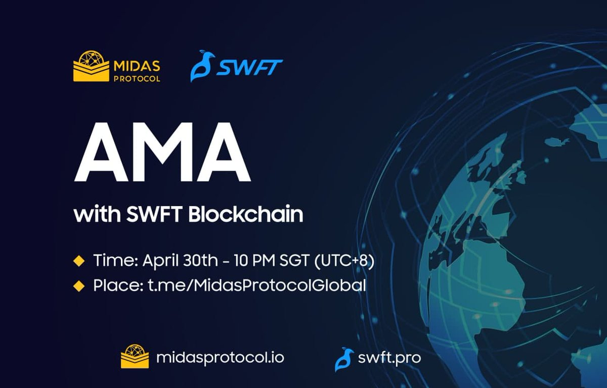 Join us for an AMA with the @MidasProtocol team!  ⏰ T-9 hours!