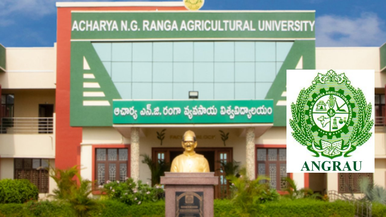 Direct Recruitment Faculty Positions at Angrau, India, Total Post = 109*