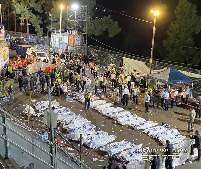 بنيامين نتنياهو وقعت مأساة كبيرة في جبل ميرون. نصلي جميعا من أجل شفاء المصابين