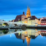Image for the Tweet beginning: This is Regensburg, Germany's best-preserved