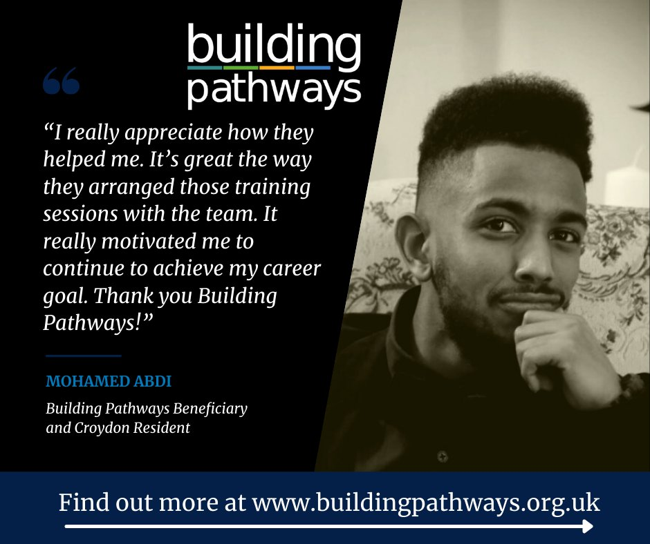 Check out Mohamed's thoughts about his time in one of our employability programmes!   Click on the link below to find out more!  https://t.co/AADLblFFJ1  @MertonCollege   #LoveConstruction #Careers #Training #Online #ConstructionUK #Support  #CV #CSCS #Mentoring #Employability