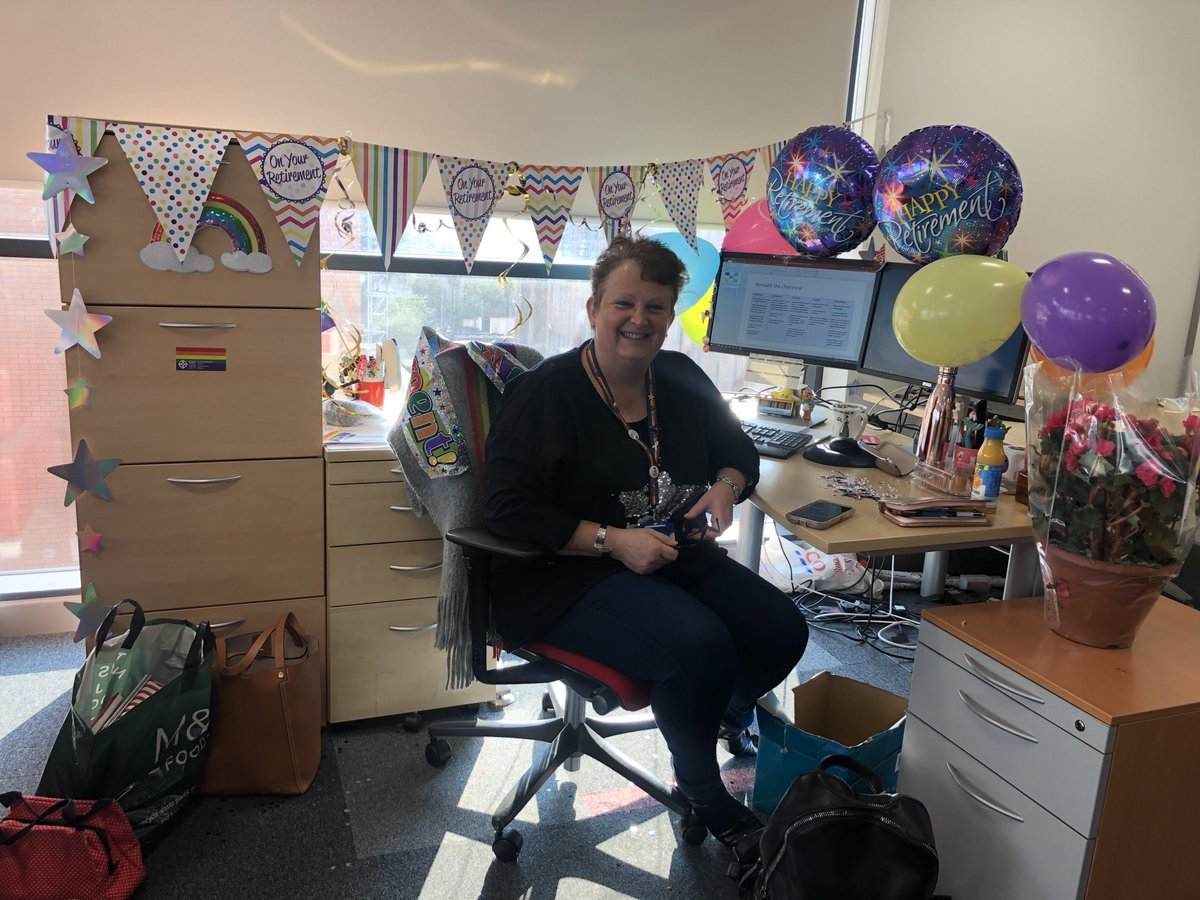 @SianiBolt All the best Sian. Be warned; it is quite easy to find yourself back in work after retiring!! Have fun