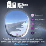 Image for the Tweet beginning: With @EnfocusSW #BoardingPass customer-facing staff