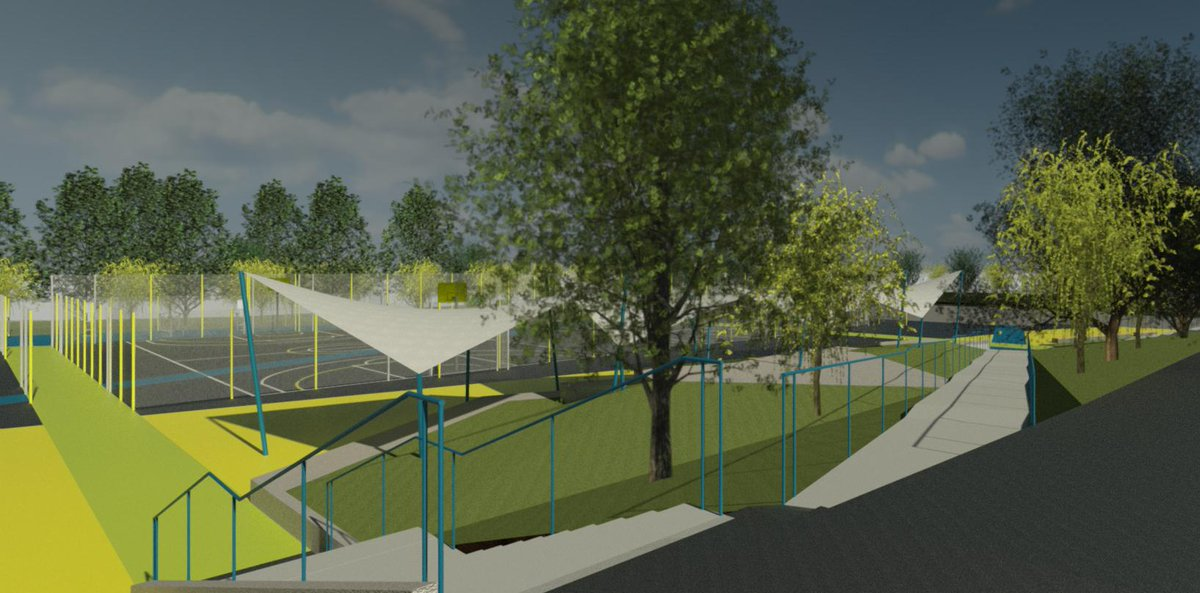 Our planning application has been approved by @wiltscouncil and we're very excited to now be in the final planning stages for our amazing new sports facilities. We're hoping to begin construction during the summer break. More info soon, and on our website: https://t.co/JfBKINFBqu
