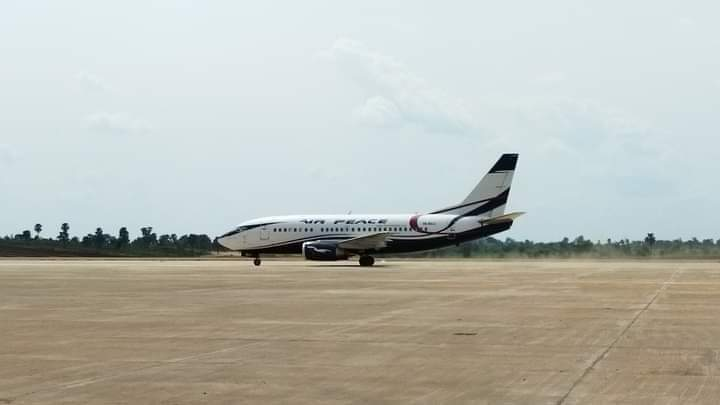 Anambra Airport First Flight Land