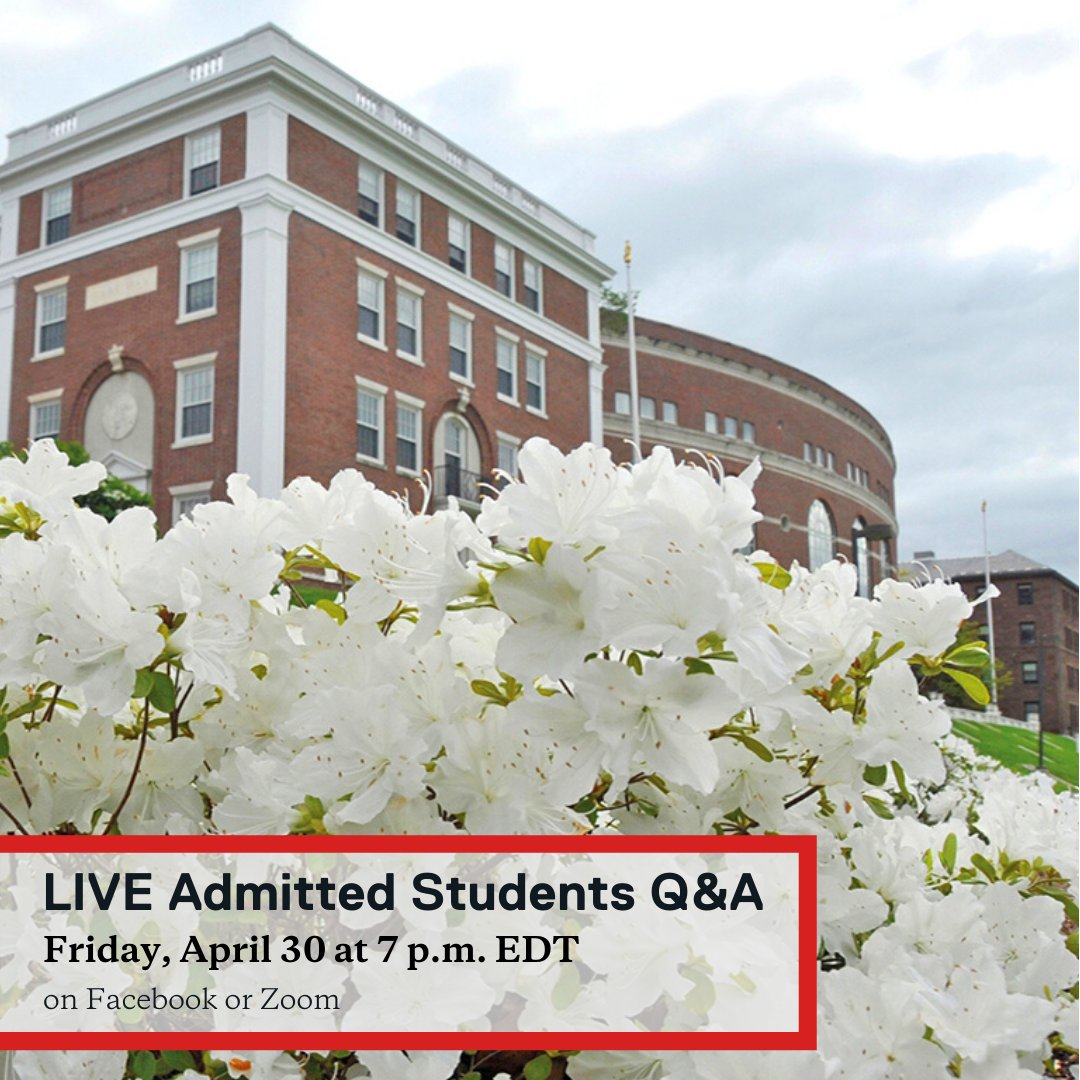 test Twitter Media - Our final LIVE Admitted Students Q&A will happen tonight, Friday, April 30 at 7 p.m. Our current students can't wait to answer any questions you have about Wes and to share their experiences.  Watch on Facebook or participate on Zoom: https://t.co/FPOd2TpTOb https://t.co/2YgwKpiIFg