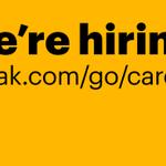 Image for the Tweet beginning: We're hiring! Kodak is looking