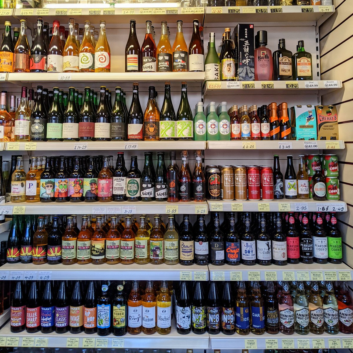 Birmingham Cider fans, if you need to stock up for the bank holiday weekend, head down to @StirchleyWines. You'll find a great selection there. https://t.co/03JGl7mf5j