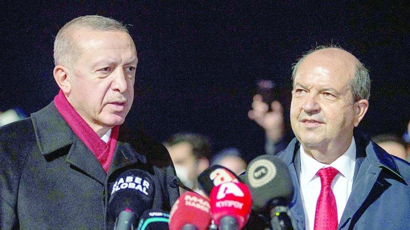 """أردوغان """"لا ينتظر"""" نتائج من محادثات قبرص المقبلة جريدة عمان"""