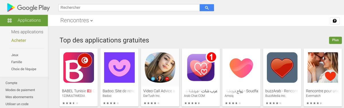 Rencontrer des tunisiennes et tunisiens près de chez vous