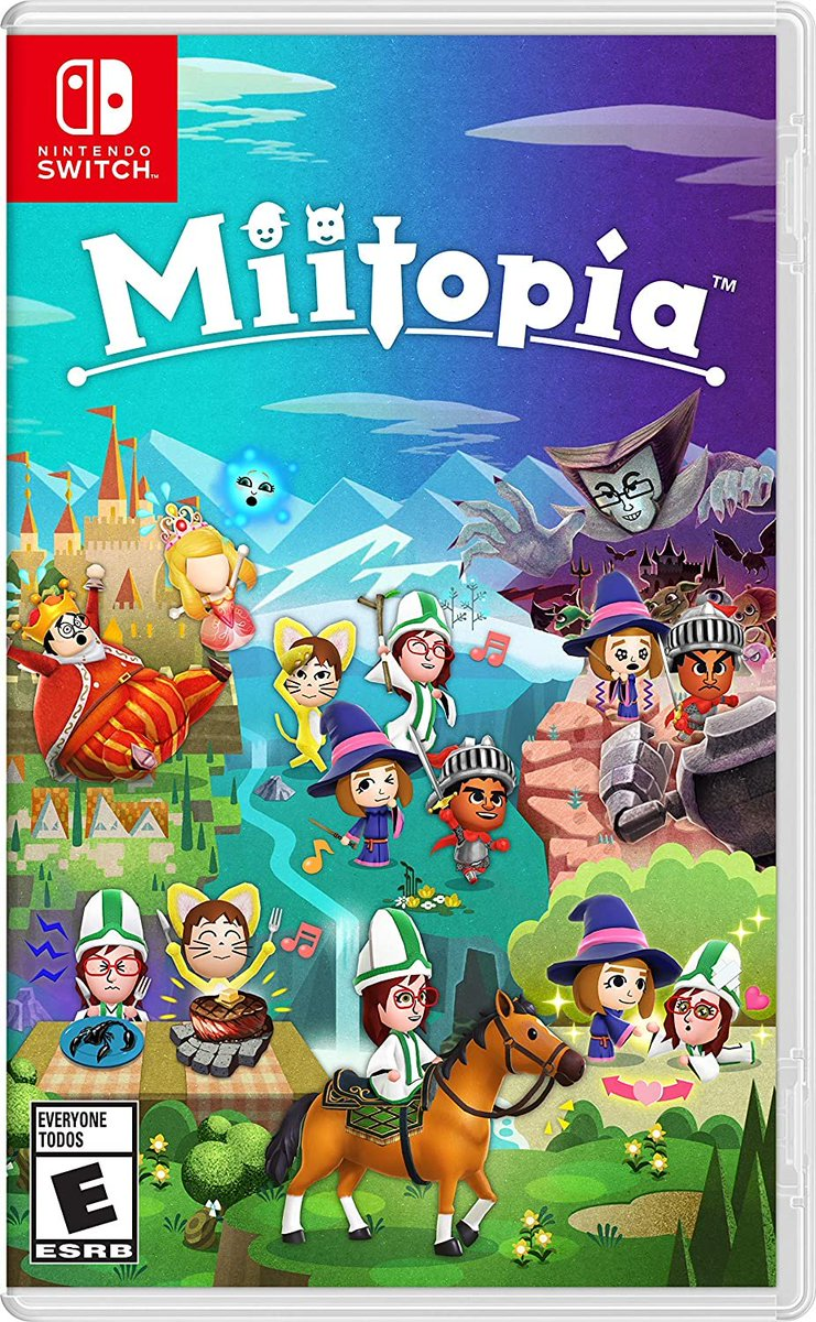 Miitopia (Switch) is $0.11 off on Amazon: 2  $49.88 releases May 21  You're welcome.