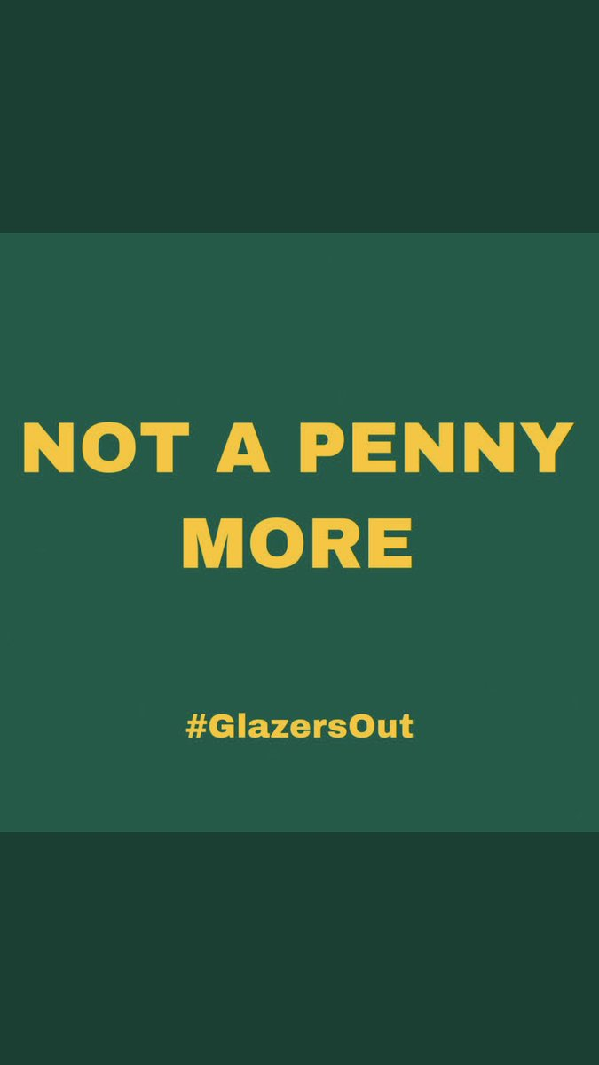 Cancel MUTV, delete the app. Give it 1 star rating. Unfollow Manchester United. Enough is enough. #GlazersOut https://t.co/K5L7Hy3M2F