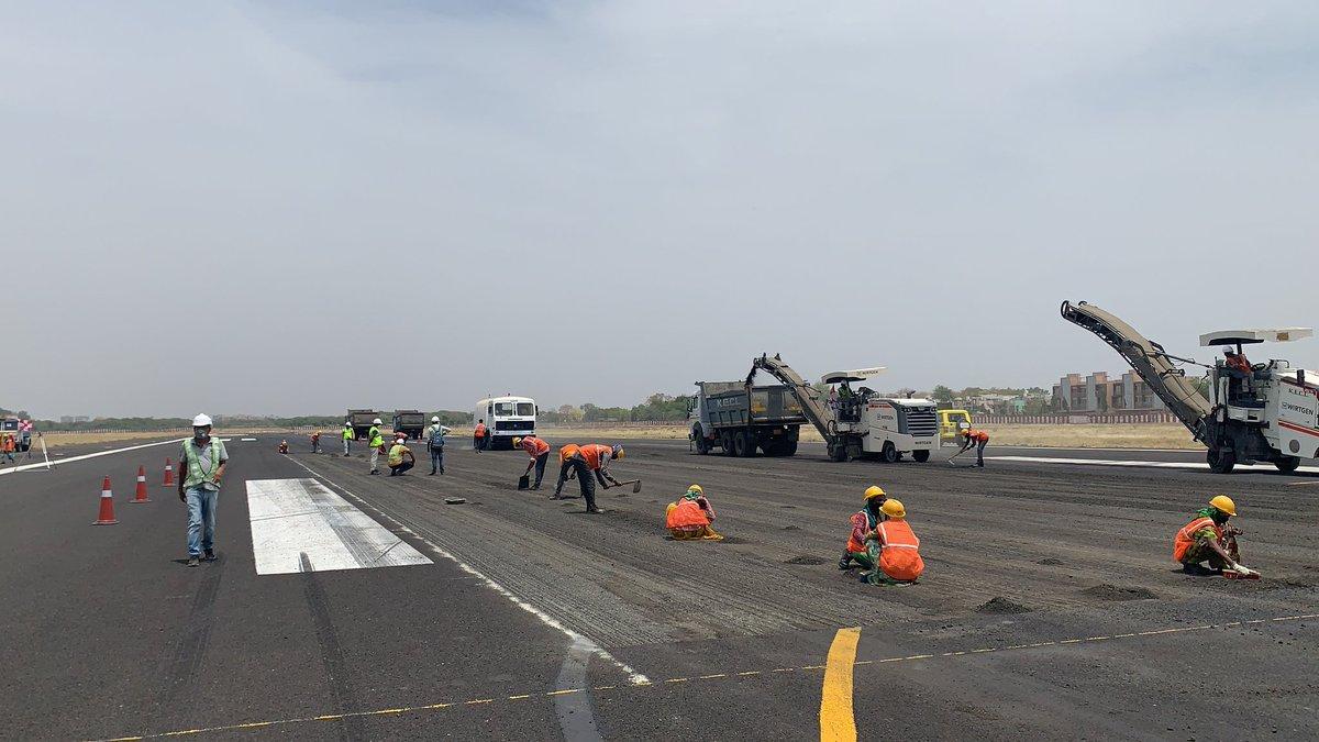 Ahmedabad Airport runway re-carpeting work later this year may disrupt flights traffic