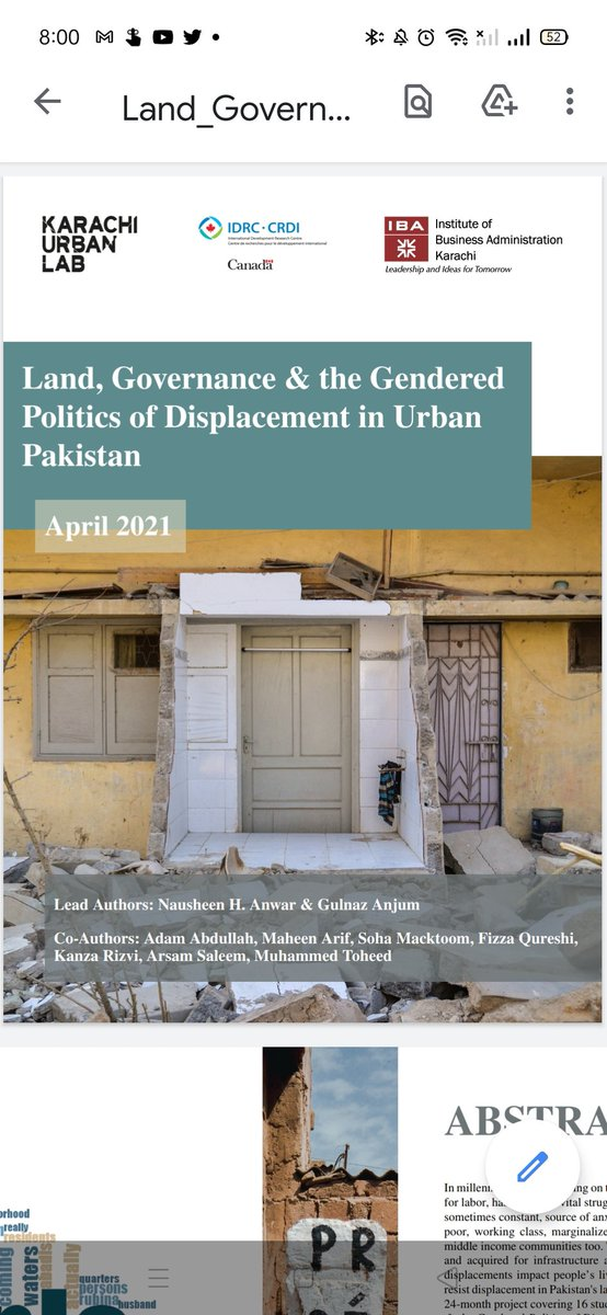 Super excited to share that our final report for IDRC funded project is available for public now. Three years of love and labour by our incredible project team who worked on life before, during, and after displacements and the complexities of displacements https://t.co/SbIXMMNkXb https://t.co/3B4knLYDrN