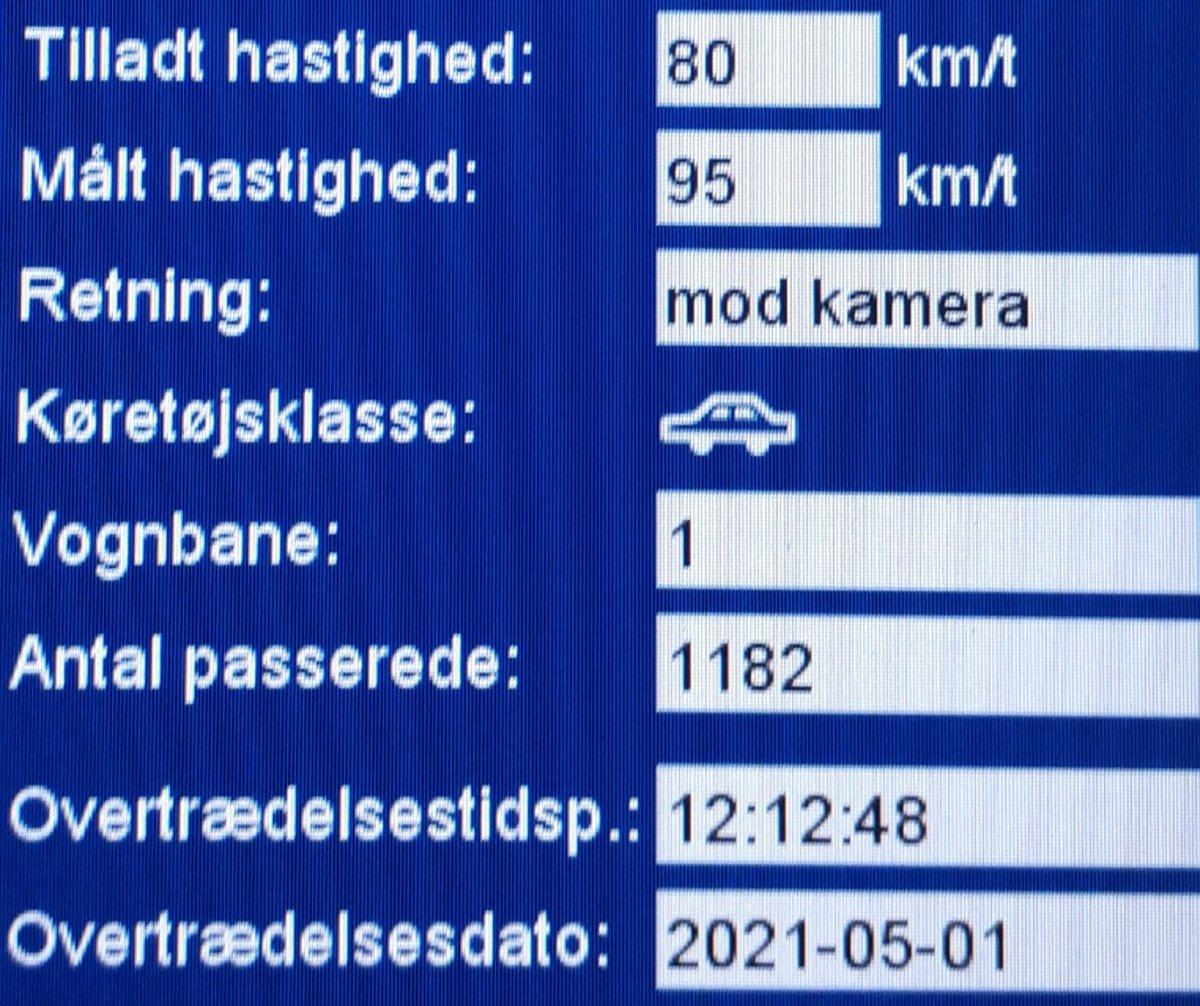 Vi har i dag målt på vores faste fokusstrækning Esbjergvej i Vejen kommune i næsten 6 timer. Mere end 1200 passerede køretøjer kom forbi ATK vognen og med kun 2 mindre sager kan vi kun være glade, så fortsæt den pæne kørsel og fortsat god weekend fra ATK #atkdk #politidk https://t.co/qRuDRa5bRz