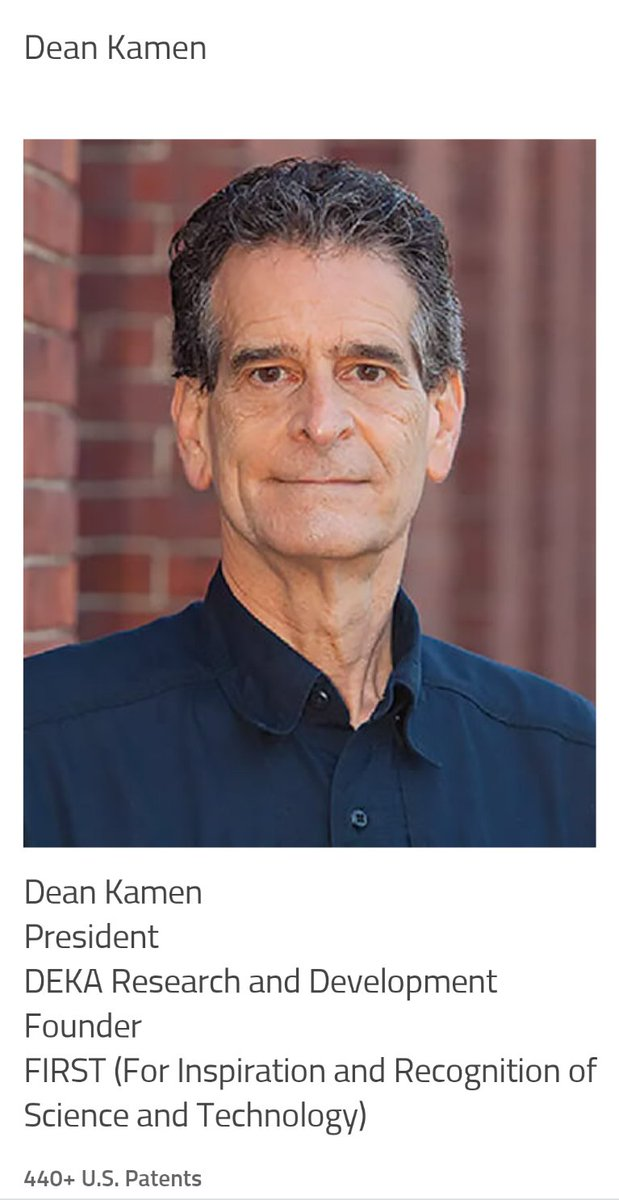 Reflections from our executive director on the recent induction of @DeanKamen to @FloridaInvents Hall of Fame . @FIRSTweets @TampaInnovation @USFResearch @EngineeringUSF