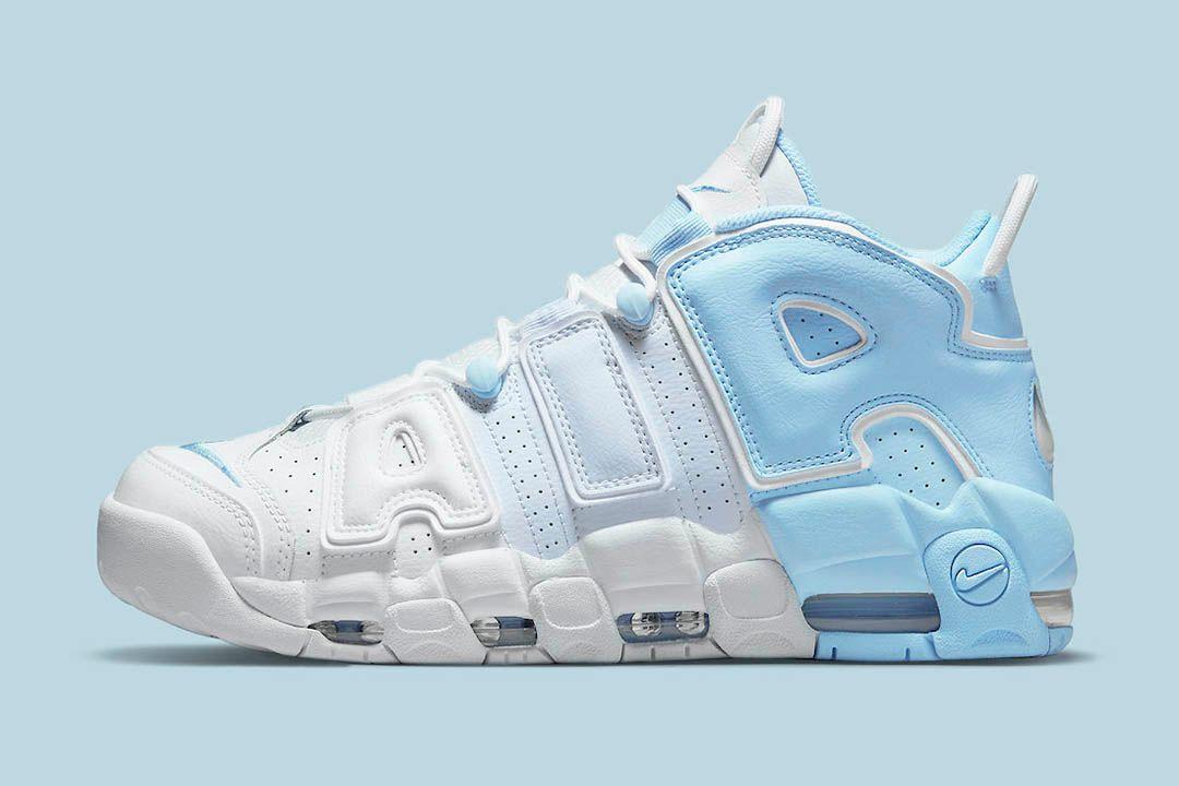 LIVE via Footlocker in 20mins Nike Air More Uptempo 'Sky Blue' =  2
