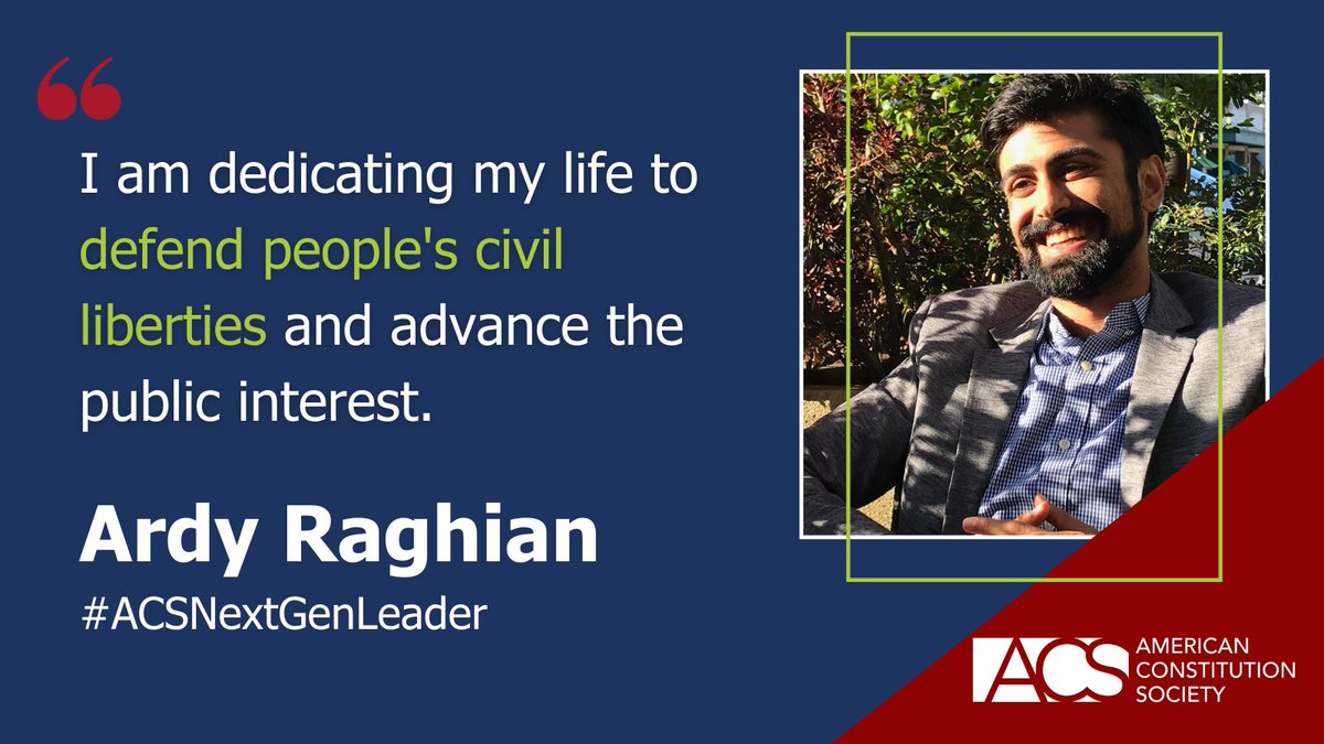 ACS has selected its 2021 class of Next Generation Leaders! Meet the 2021 class here: https://t.co/3RVX2pZgOz #ACSNextGenLeader https://t.co/uH9qN33GB6
