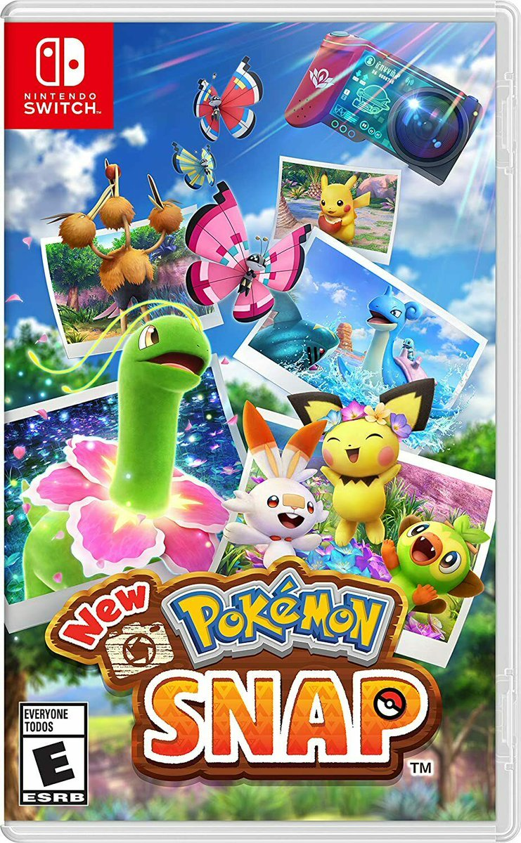New Pokemon Snap - Nintendo Switch is now only $50     2