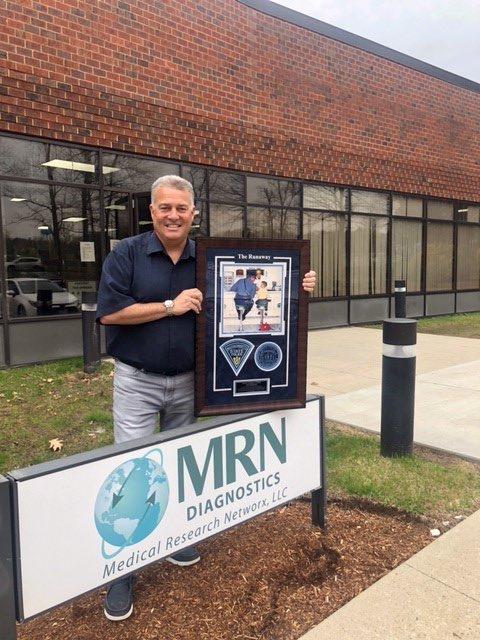 Mass State Police recognize Dr Greg Chiklis, MRN Diagnostics