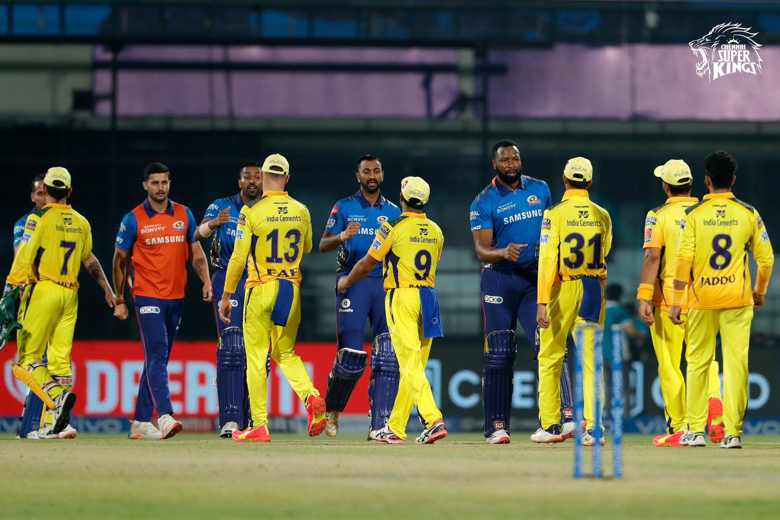IPL 2021 CSK vs MI