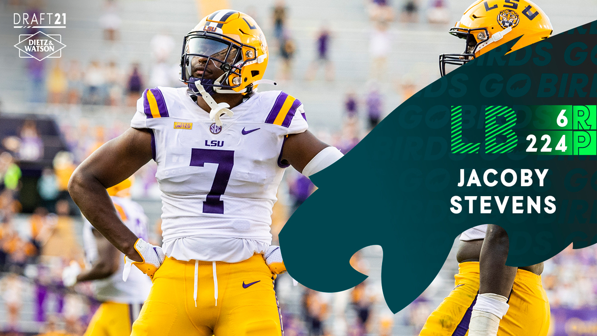 Congrats to our guy, @jacobystevens7! Turning dreams into reality.   #NFLDraft #a3family #EaglesDraft