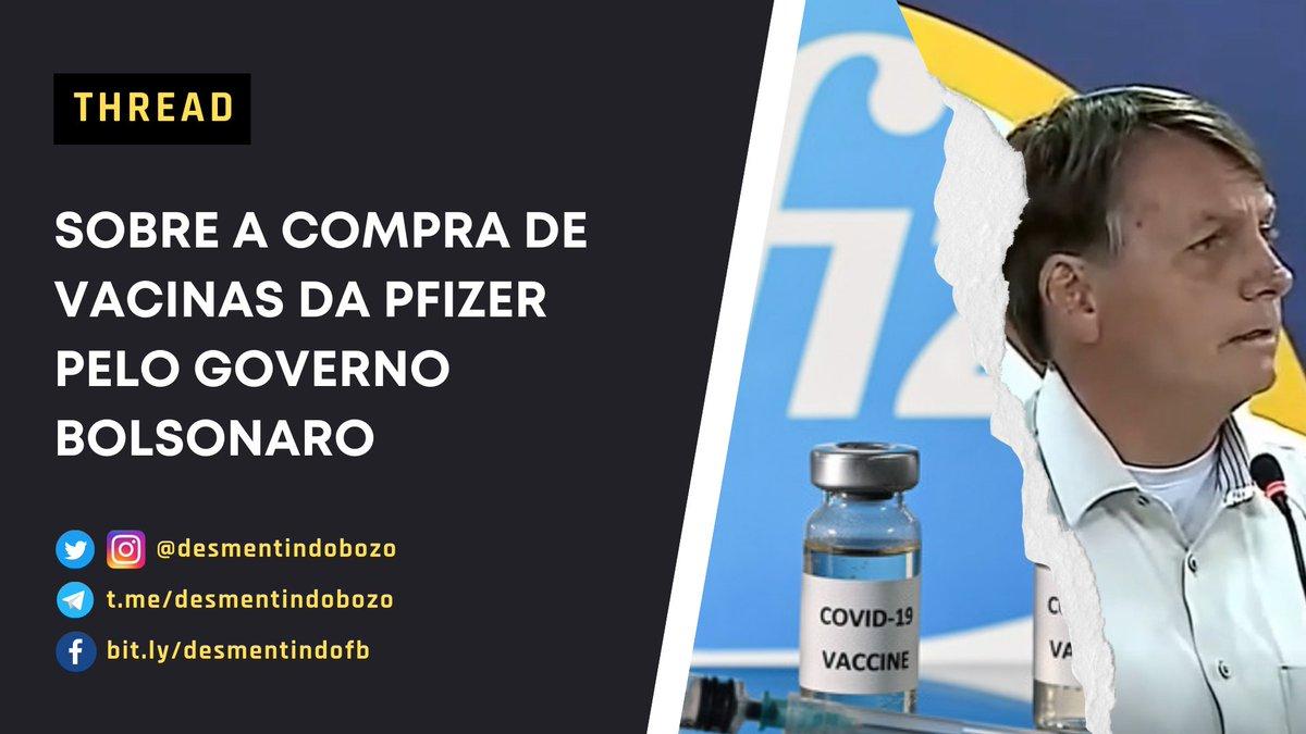O Governo Bolsonaro não tinha como comprar a vacina da Pfizer sem a autorização do Congresso? Será mesmo?  🧶 Segue o fio que vamos explicar! Dê RT e ajude a chegar em mais pessoas. #DesmentindoBolsonaro https://t.co/fOxa9JnI1b
