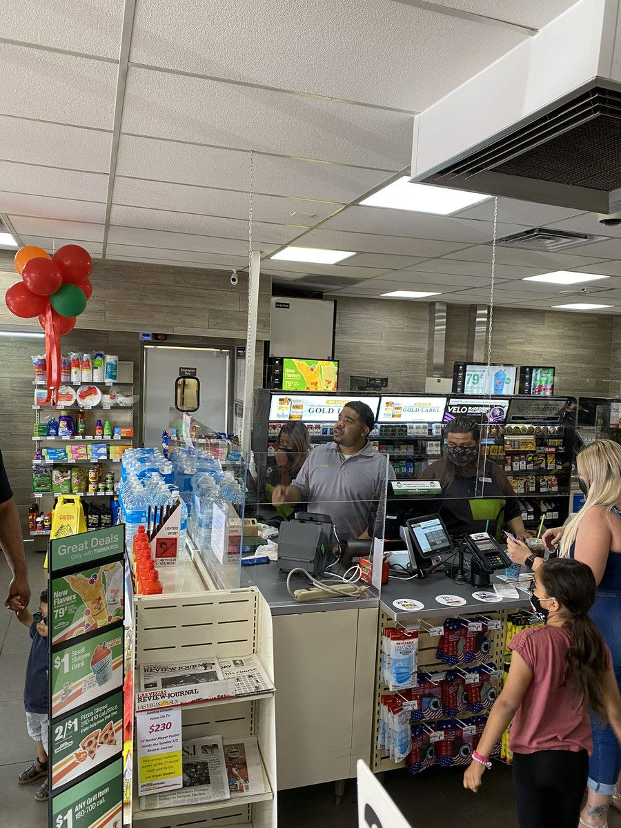 This week the First #BlackOwned #7Eleven store opened in #Nevada. Join us, congratulating this outstanding achievement!