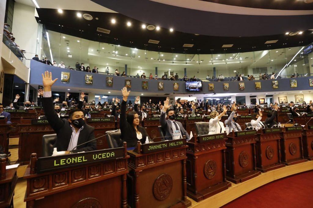 Resolución contra decreto legislativo que destituye a magistrados constitucionalistas