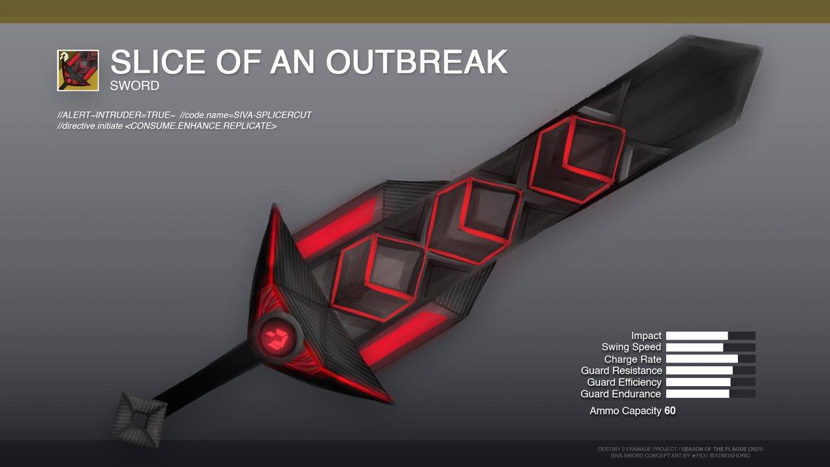 SIVA sword concept #2 - Season of the Plague