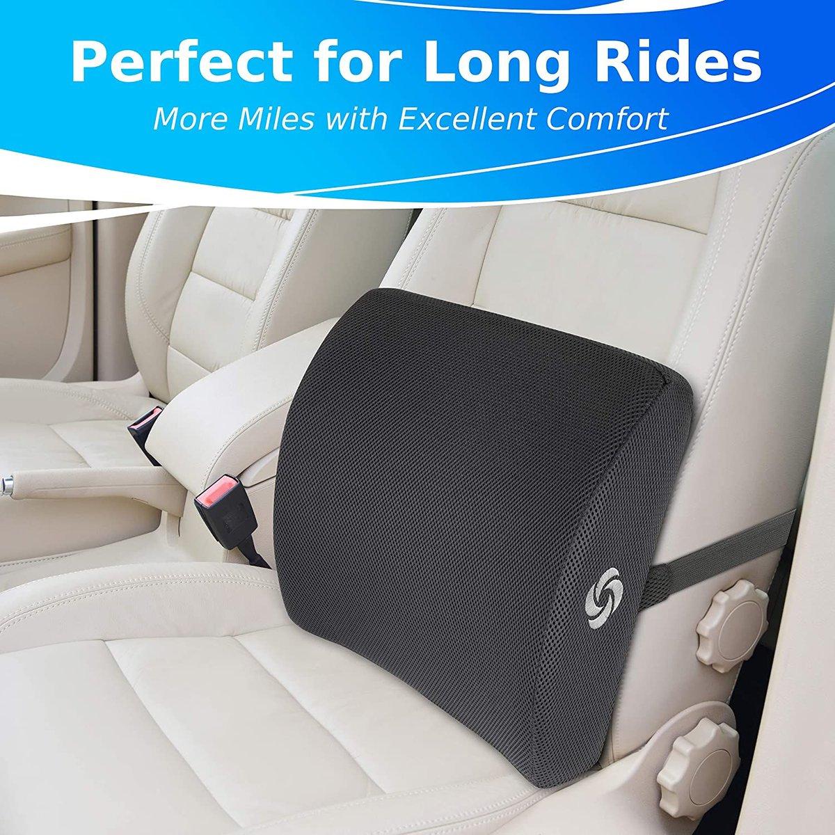 ad: $19.99 (33% off)  SAMSONITE Ergonomic Lumbar Support Pillow   Link0  Link0