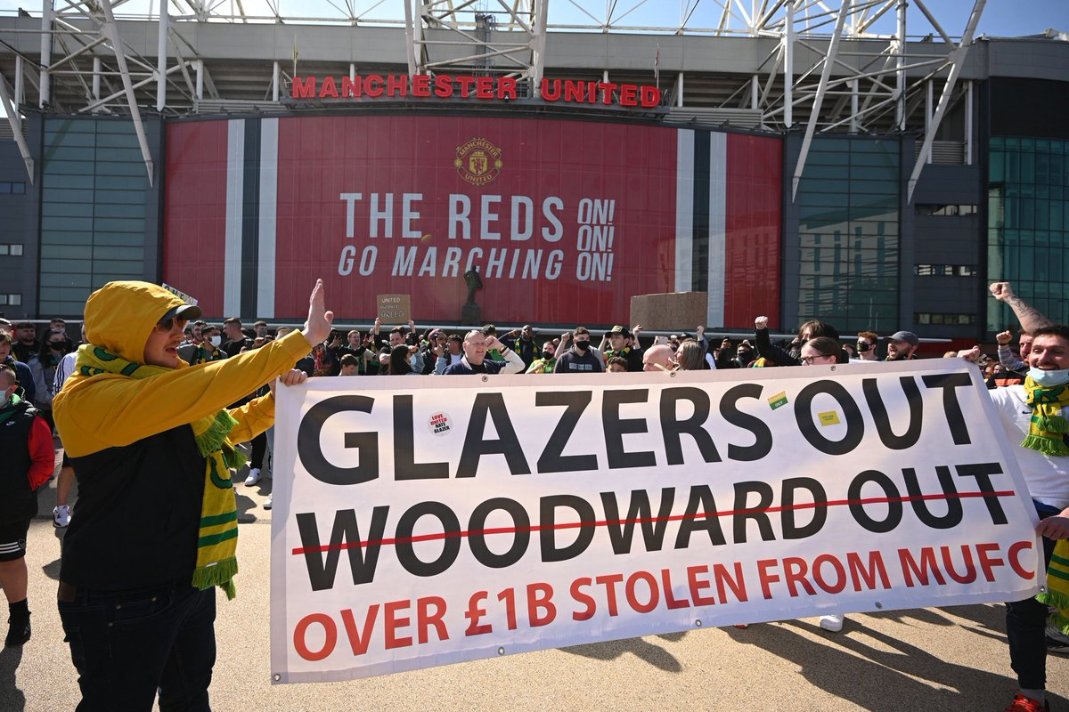2pm today, we go again.   #GlazersOut. 🔰 https://t.co/8eQOAGQXWm