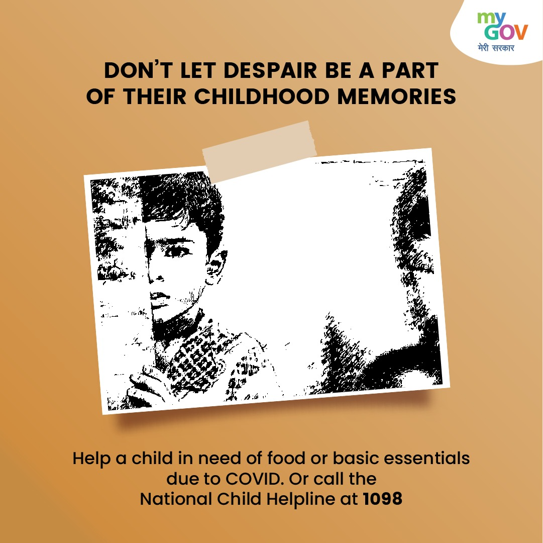 Be the #hero for all the affected children near you! Do you know a child who has lost a close relative to #COVID19? Call #NationalChildHelpline 1098 to ensure these children get the appropriate help. #Childline1098 #IndiaFightsCorona  @MoHFW_INDIA  @drharshvardhan
