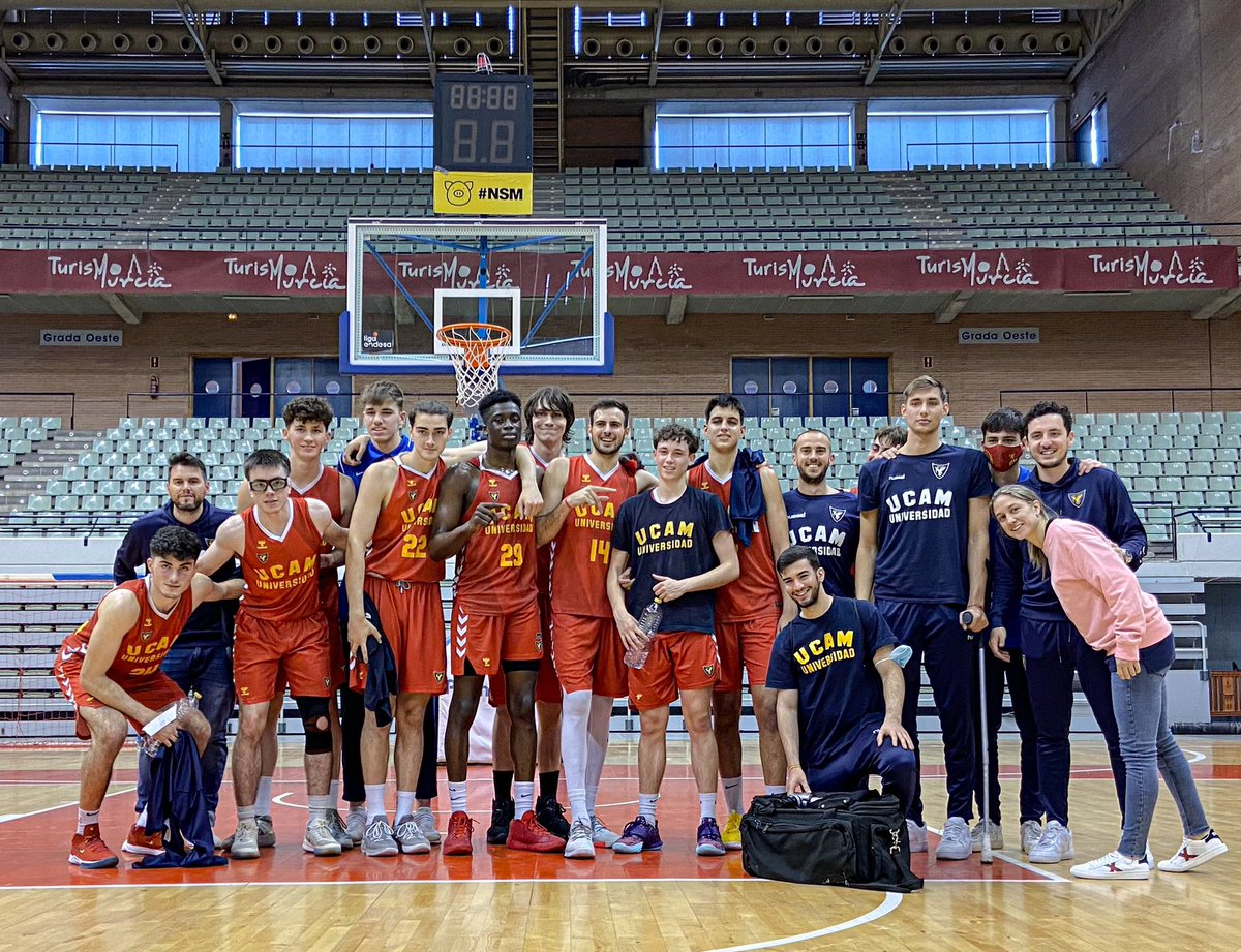 ¡LA VICTORIA SE QUEDA EN CASA!   🏆 J14 2ª FASE LIGA EBA 🏀 @UCAMMurcia 1️⃣0️⃣4️⃣ 🏀 @alcora_l 9️⃣9️⃣  💪🏻 ¡PARTIDAZO! Tras jugar ayer en Valencia y sin 24H de descanso, el equipo EBA suma la 12ª de la temporada.   🔥 @alex_ante34 30PTS 30VAL  🔝Noah 24PTS 27VAL ❤️ #CanteraCAIXABANK https://t.co/sVAKjZyrKK