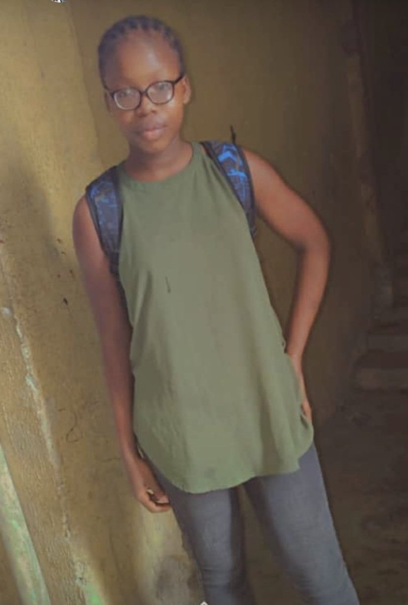 IT TAKES ONLY 1 SECOND TO RETWEET THIS: MISSING PERSON  NAME: Boluwatife Adegoke  LAST SEEN: Access Bank, Adeniji Lagos Island. 3days ago AGE: 14.  Her mom sent her to withdraw at an atm less than 5 min from the house 1pm. https://t.co/HIiAcfU037